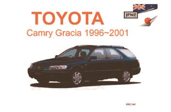 toyota camry gracia 1996 2001 owners manual engine model. Black Bedroom Furniture Sets. Home Design Ideas