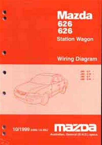 Mazda       626    GF GW 101999 Factory    Wiring       Diagram       Mazda    Motor Corporation