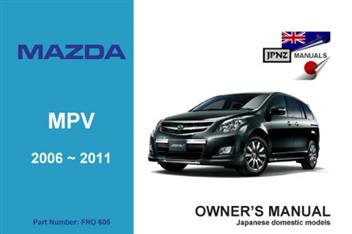 Mazda Mpv 2006 2011 Owners Manual Engine Model L3 Ve border=