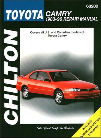 toyota camry 1983 1996 chilton owners service repair manual 0801989558 9780801989551 chilton. Black Bedroom Furniture Sets. Home Design Ideas