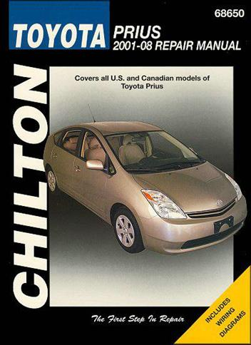 toyota prius 2001 2008 chilton owners service repair manual 156392691. Black Bedroom Furniture Sets. Home Design Ideas
