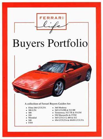 ferrari buyers portfolio 1855207478 9781855207479. Black Bedroom Furniture Sets. Home Design Ideas