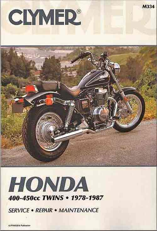 Honda CM400, CB400, CMX450 Rebel, CB450 Nighthawk, Hondamatic Twins 1978 - 1987