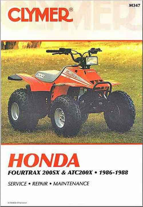 Honda Fourtrax 200SX, ATC200X ATV 1986 - 1988