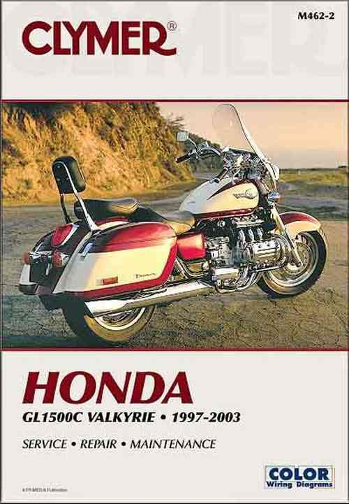 Honda GL1500C Valkyrie 1997 - 2003 Clymer Owners Service & Repair Manual