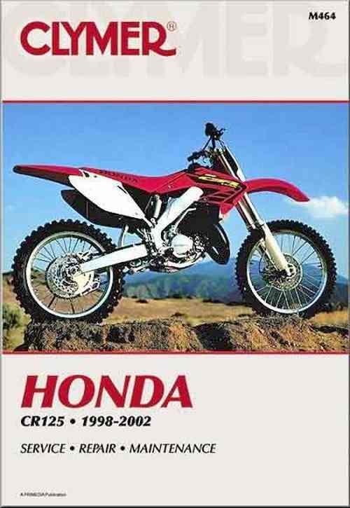 Honda CR125R 1998 - 2002 Clymer Owners Service & Repair Manual