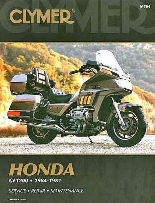 Honda GL1200 Gold Wing 1984 - 1987 Clymer Owners Service & Repair Manual