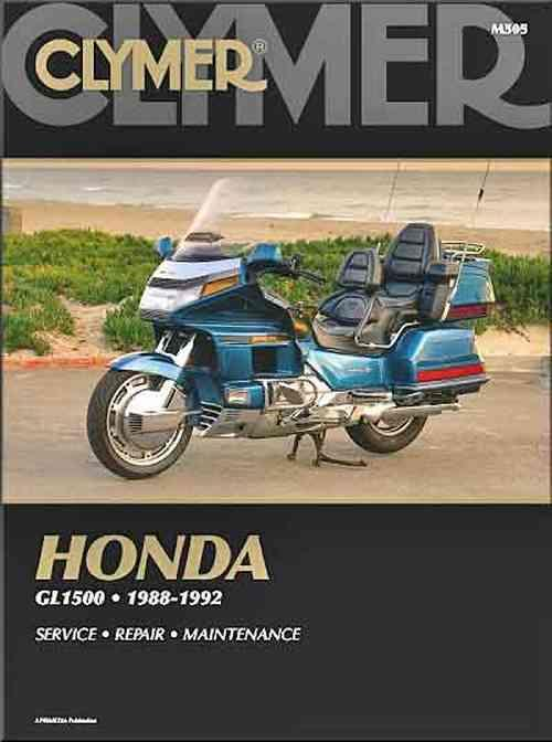 Honda GL1500 Gold Wing 1988 - 1992 Clymer Owners Service & Repair Manual
