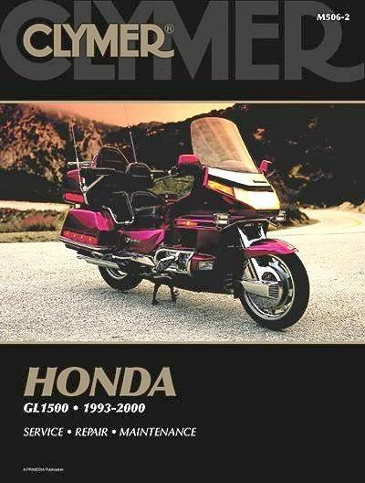 Honda GL1500 Gold Wing 1993 - 2000 Clymer Owners Service & Repair Manual