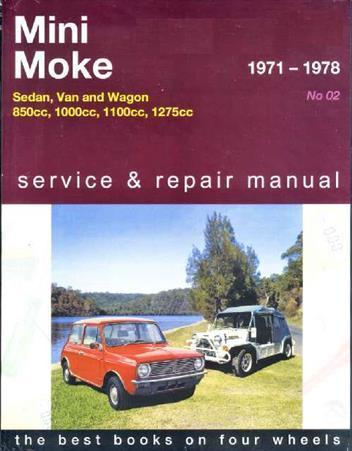mini 1971 1978 moke 1971 1982 gregorys owners. Black Bedroom Furniture Sets. Home Design Ideas
