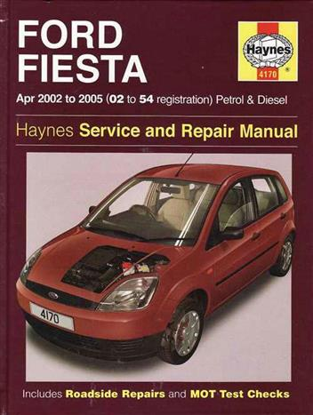ford fiesta petrol diesel 2002 2008 haynes owners workshop manual 0857339737 9780857339737. Black Bedroom Furniture Sets. Home Design Ideas