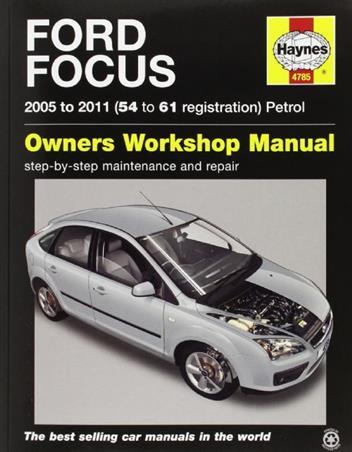ford focus petrol   haynes owners service