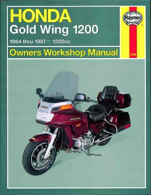 Honda Gold Wing 1200 (USA) 1984 - 1987 Haynes Owners Service & Repair Manual