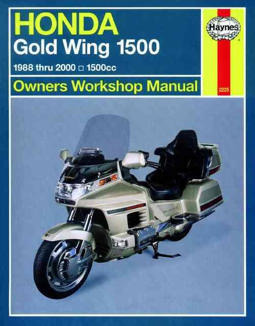 Honda Gold Wing 1500 (USA) 1988 - 2000 Haynes Owners Service & Repair Manual