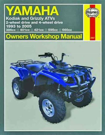 2000 yamaha kodiak 400 service manual