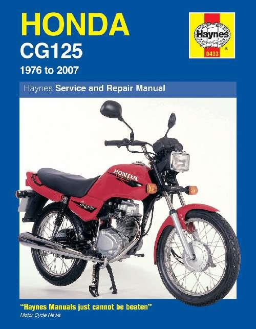 Honda CG125 1976 - 2007 Haynes Owners Service & Repair Manual