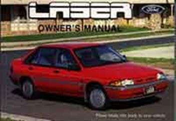 ford laser kf kh   owners manual