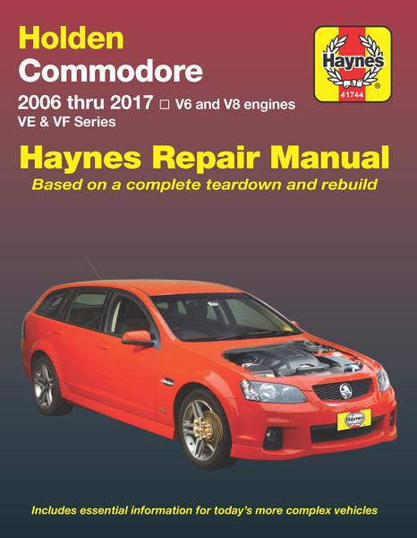Holden Commodore VE 2006 - 2012 Haynes Owners Service & Repair Manual