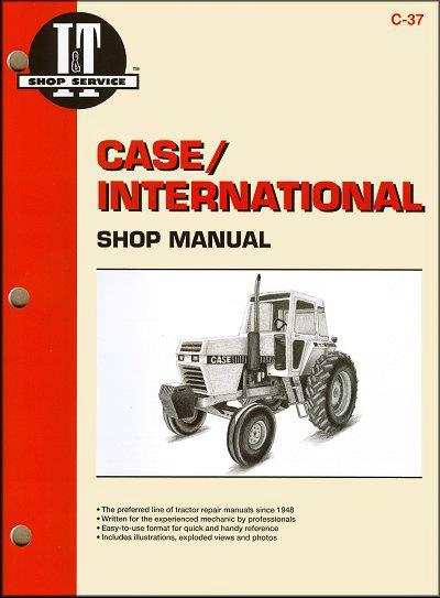 Farm Tractor Repair Manuals : Case international farm tractor owners service