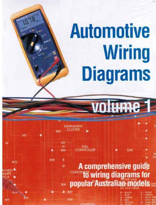 Automotive Wiring Diagrams   Volume 1  1975