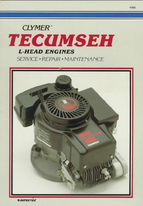 Tecumseh L Head Engine Owners Service  U0026 Repair Manual