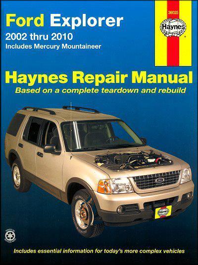 2003 ford explorer repair manual pdf autos post. Black Bedroom Furniture Sets. Home Design Ideas