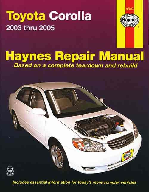toyota corolla  zze122r  2003 2005 haynes owners service 1990 toyota corolla repair manual pdf 1990 toyota corolla service manual