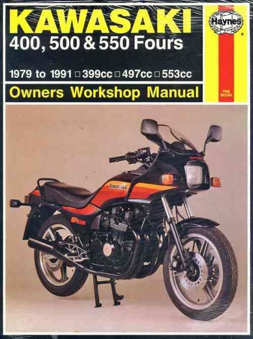 Kawasaki Z400  Zr400  Zx400  Z500  Kz500  Kz550  Gpz550
