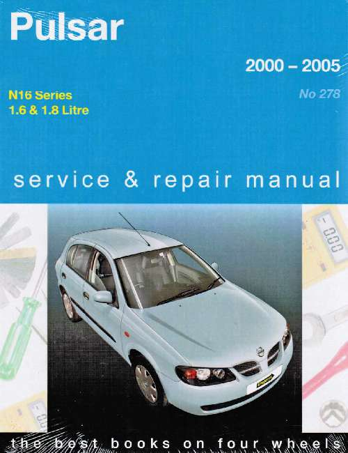 nissan pulsar n16 workshop manual