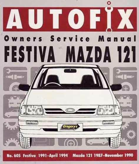 1990 Ford Festiva Repair Manual