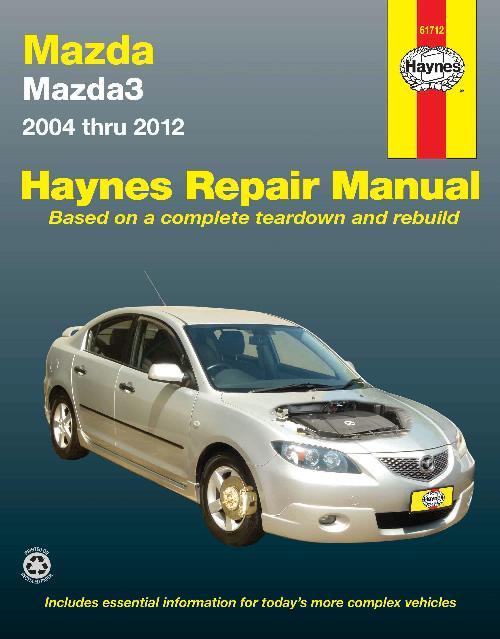 mazda 3 2013 owners manual