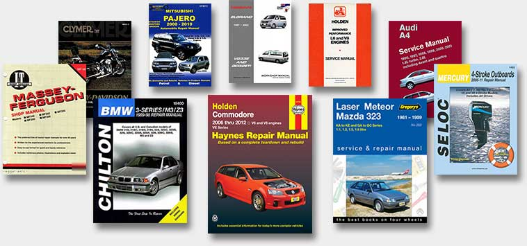 Workshop manuals examples
