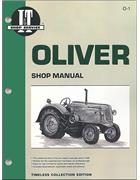 Oliver Petrol & Diesel Farm Tractor Owners Service & Repair Manual - Front Cover