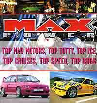 Max Powers Mad Motors - Front Cover