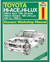 Toyota Hi-Ace & Hi-Lux (Petrol) 1969-1983 Haynes Owners Service & Repair Manual