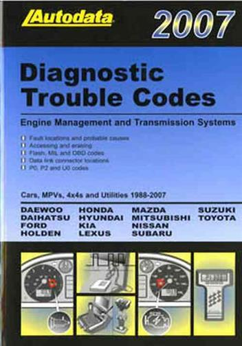 Autodata Diagnostic Trouble Codes 2007
