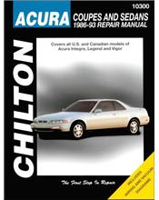 Honda Acura, Integra, Legend & Vigor 1986 - 1993