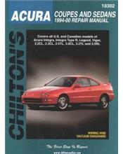 Honda (Acura) Integra, Integra Type R & Legend 1994 - 2000 Repair Manual