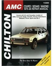 AMC Coupes, Sedans and Wagons 1975 - 1888