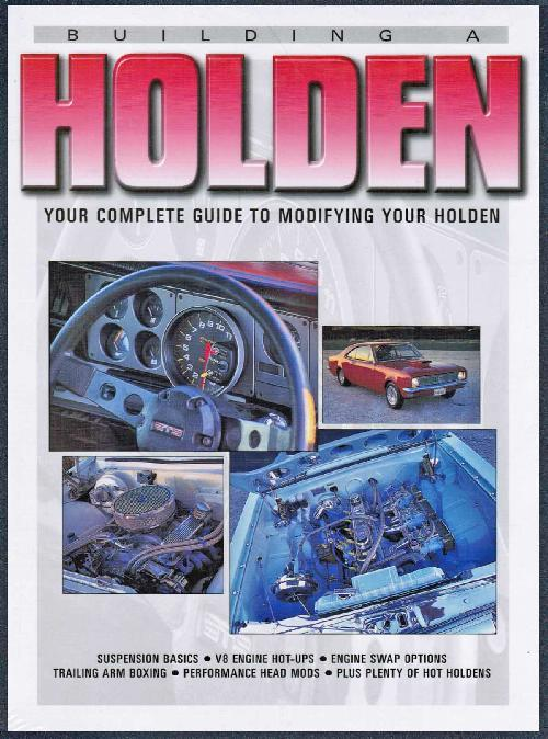 Building a Holden - Front Cover