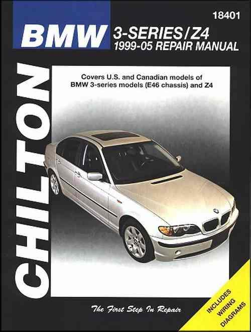 BMW 3-Series/Z4 1999 - 2005 Chilton Owners Service & Repair Manual