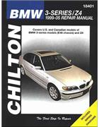 BMW 3-Series/Z4 1999 - 2005 Chilton Owners Service & Repair Manual - Front Cover