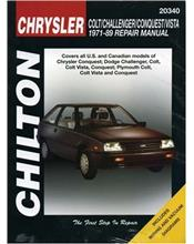 Chrysler Colt, Challenger, Conquest & Vista 1971 - 1989