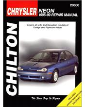 Dodge, Plymouth Neon 1995 - 1999 Chilton Owners Service & Repair Manual