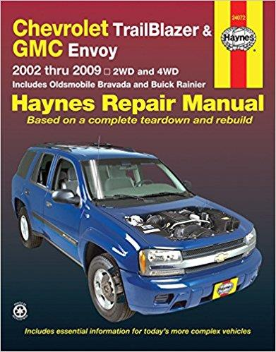 Chevrolet TrailBlazer, TrailBlazer EXT, GMC Envoy 2002 - 2009