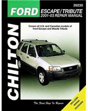 Ford Escape / Mazda Tribute 2001 - 2003 Chilton Owners Service & Repair Manual