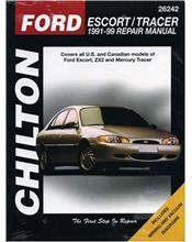 Ford Escort & Tracer 1991 - 1999 Chilton Owners Service & Repair Manual
