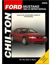 Ford Mustang 1994 - 2004 Chilton Owners Service & Repair Manual