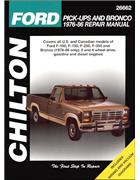 Ford Pick-Ups & Bronco Petrol & Diesel 1976 - 1986 - Front Cover