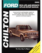 Ford Pick-Ups & Bronco Petrol & Diesel 1976 - 1986